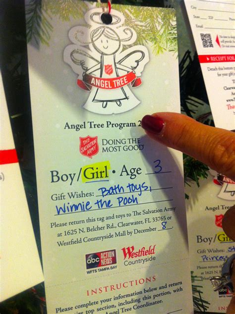 Salvation Army Gift Cards - how to be an angel and get a starbucks gift card from clearwater dental office