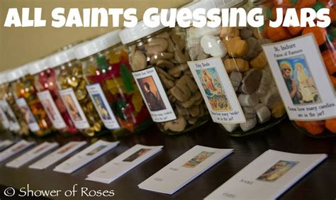 themes for guessing games shower of roses all saints party games saint themed