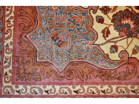 Wool Area Rugs Sale On Sale For 1450 Hanmdade 9 X 12 Knotted Design Wool Area Rug Light Color 831