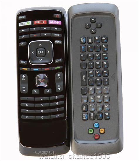 Genuine New Vizio Xrt301 3d Qwerty Keyboard Dual Side Tv