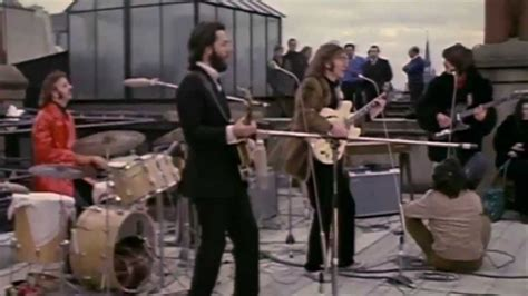 The Beatles Don T Let Me Down Rooftop | the beatles don t let me down youtube
