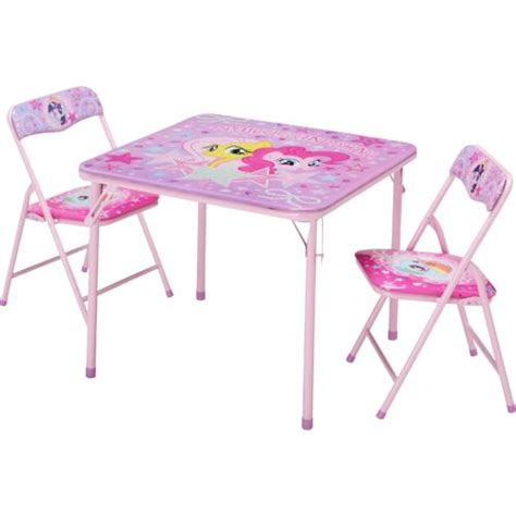 Pony Table And Chairs by Hasbro Pony 3 Table And Chairs Set