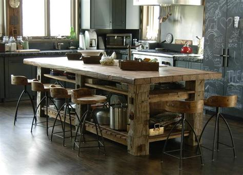 rustic kitchen island kitchen islands with seating hgtv within kitchen island