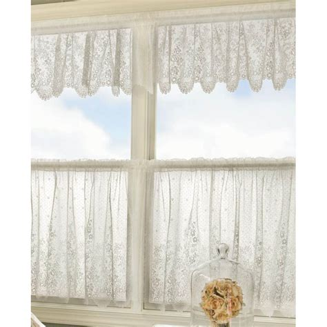heritage lace curtains floret lace curtains by heritage lace bedbathhome com