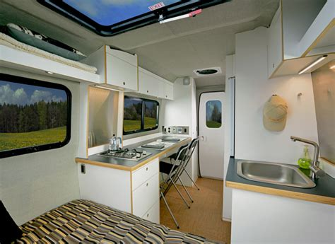 Nest Interiors by Airstream To Build Fiberglass Nest Caravan Outside Interests