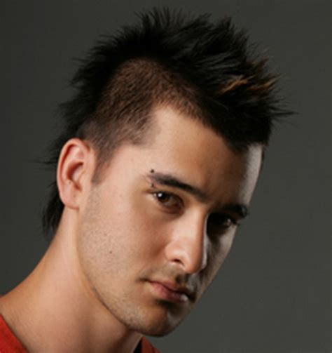images of people that have a mohican hairstyle the spiky spooky mohawk hairstyles glamy hair