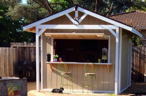 bar shed   backyard garden shed