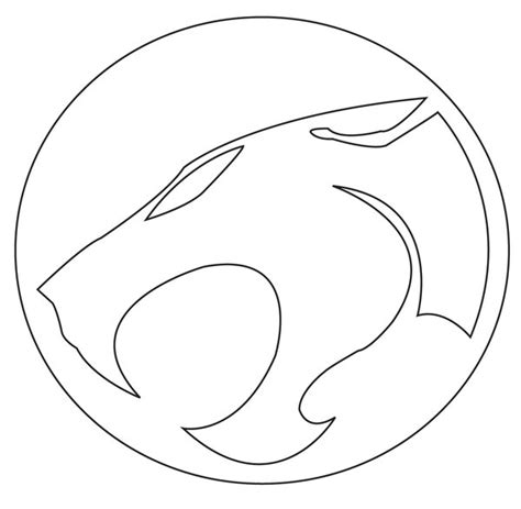 thundercats pumpkin carving template thundercats vector lines by stitchfan001 on deviantart
