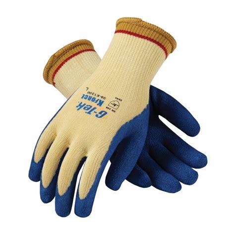 kevlar knit gloves seamless knit kevlar glove with coated crinkle grip