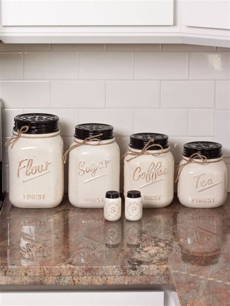 best kitchen canisters flour and sugar canister sets home ideas