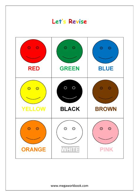 color recognition basic shapes counting worksheets for preschoolers basic