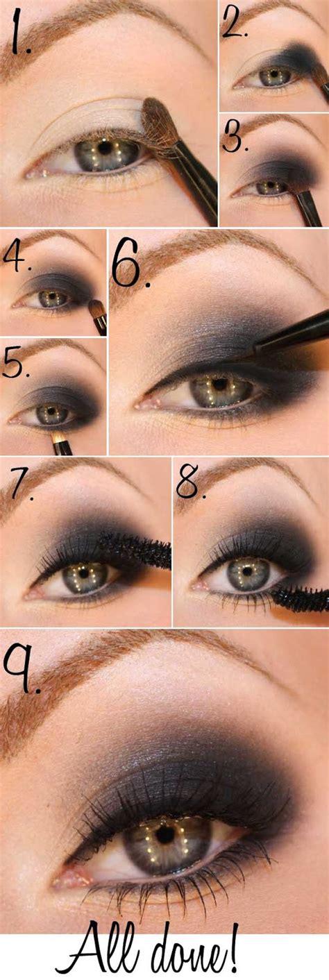 eyeshadow tutorial round eyes smokey eyes tutorials9