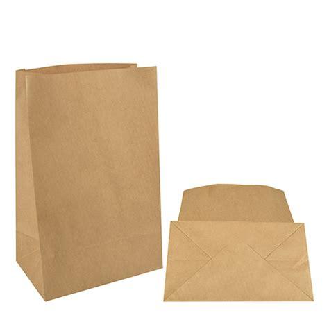 Paper Bag 10x8x17 5 Cm block bottom bags kraft paper 29 5 cm x 19 cm x 12 cm