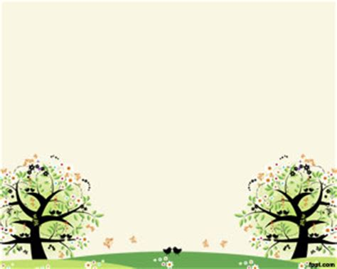 cute design for powerpoint cute forest powerpoint design bestppts