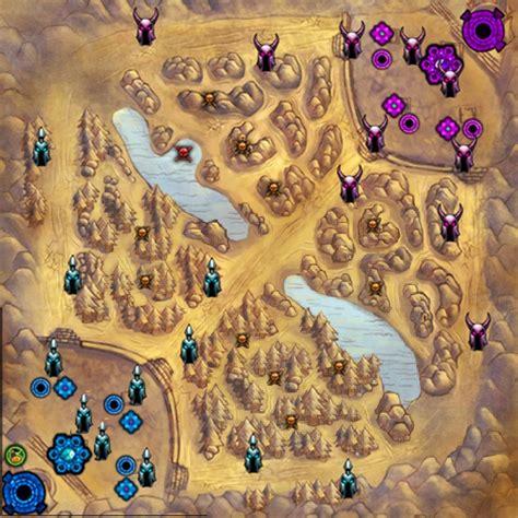 la grieta league of legends mapa la grieta del invocador