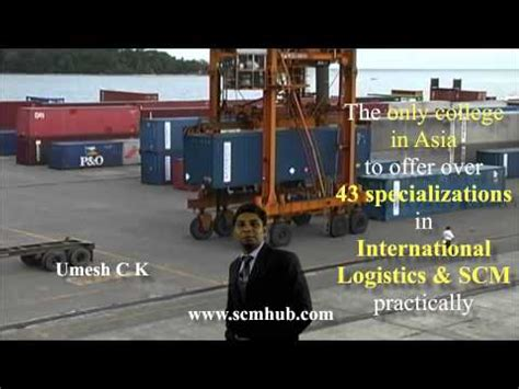 Mba In Transport And Logistics In India by Scm Hub Institute Of Management Kochi Shiksha