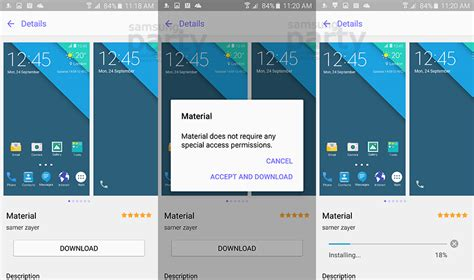 how to install galaxy s6 themes on galaxy s4 s5 and note ว ธ ดาวน โหลดและต ดต ง theme บน samsung galaxy s6 และ