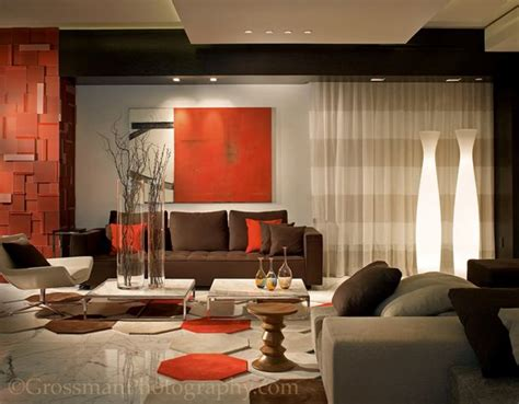 orange and brown living room ideas color of the day black bean brown sofas and accents