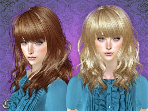 the sims 2 downloads fringe hairstyles cazy s catfight hairstyle female
