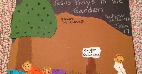childrens bible lessons lesson jesus prays   garden
