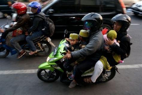 Alarm Motor Di Bogor pagi ini pemudik pemotor mulai ramai melintasi kota bogor republika