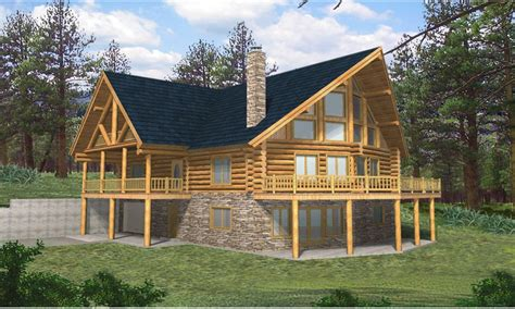 Lake House House Plans by Exterior Rustic Lake House Rustic Lake Home House Plans