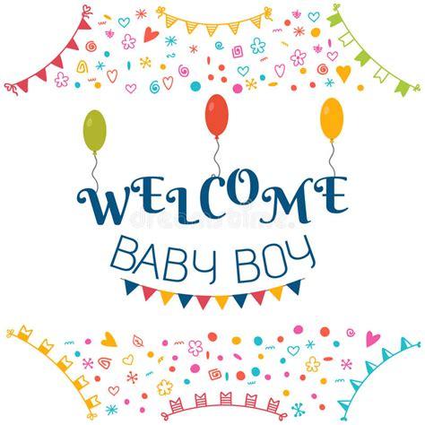 doccia neonato neonato benvenuto cartolina d auguri della doccia di