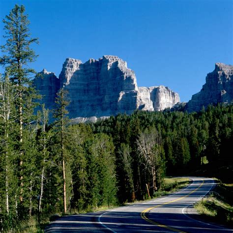 scenic byway wyoming centennial scenic byway