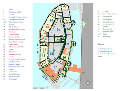 Floor Layout Plans by Vaud Le Ch 226 Teau De Chillon