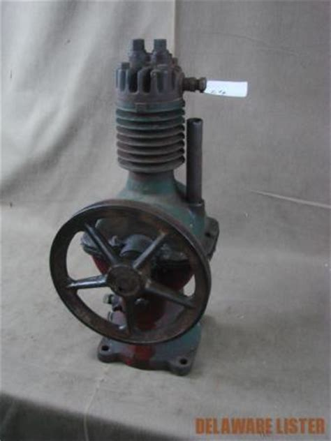antique vintage air compressor hit and miss engine ebay