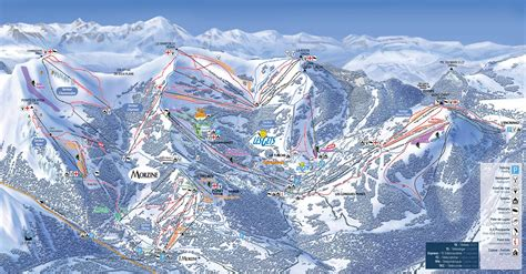 portes du soleil plan skiing in morzine the tasty ski company