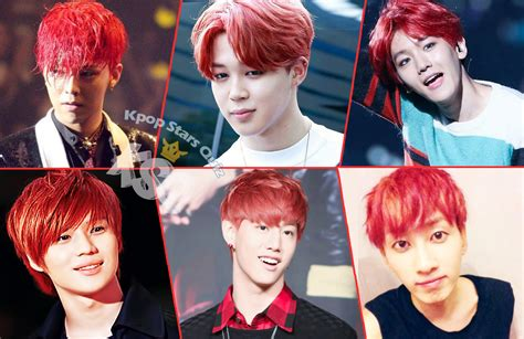 pop star with red curly hair kpop poll who is your favorite kpop idol with red hair