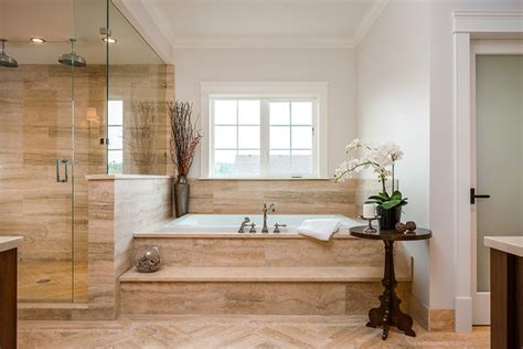 bathtub with steps traditional bathroom