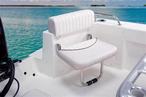 stern boat seats mako 204 cc shown is one of the optional aft jump seats
