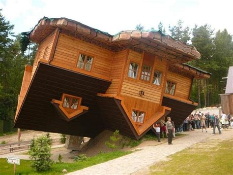 upside down house poland upside down house a polish village s topsy turvy tourist draw