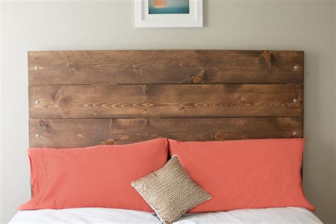 diy reclaimed wood inspired headboard nautical bedroom