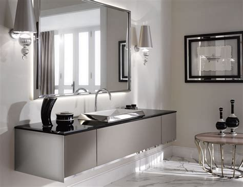 the luxury look of high end bathroom vanities