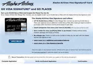 alaska airlines business visa alaska airlines visa 40 000 bonus offer travelsort