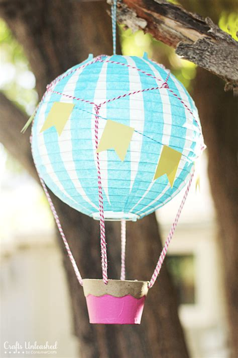 How To Make A Paper Air Balloon - how to make a air balloon vintage style