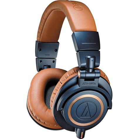 Audio Technica Ath M50x Professional Monitor Headphones Merah audio technica ath m50x monitor headphones blue ath m50xbl b h