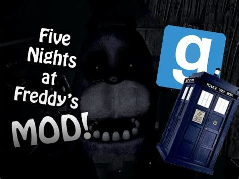 mod garry s mod five nights at freddy s gmod doctor who mod doovi
