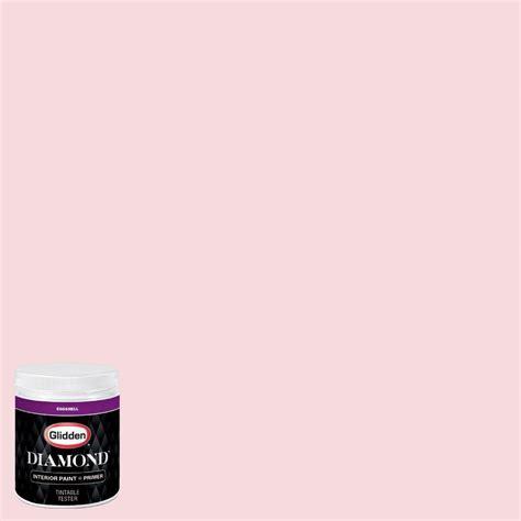 glidden 8 oz hdgr42u princess pink eggshell interior paint with primer tester hdgr42ud