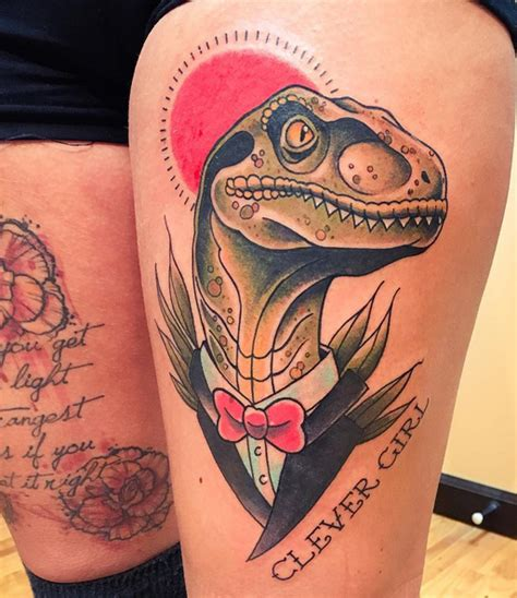 velociraptor tattoo tuesday exclusive 20 of the coolest velociraptor tattoos