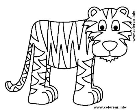 imagenes para pintar tigre tigre animales dibujos e imagenes para ni 241 os para pintar