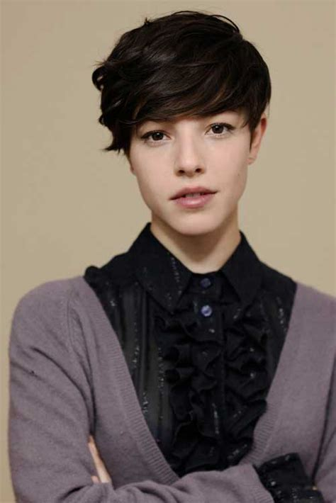 tomboyish front fringes best pixie cuts for 2013 short hairstyles 2017 2018