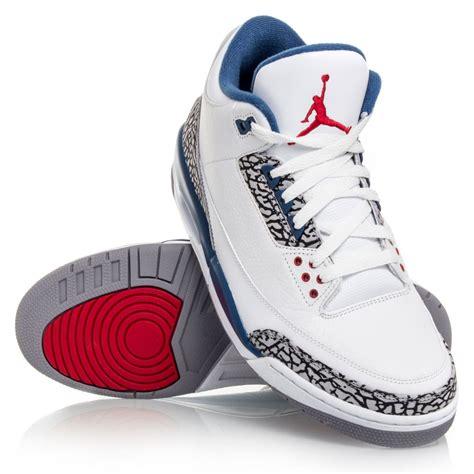 mens air retro 3 basketball shoes air 3 retro mens basketball shoes true blue