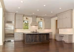 kitchen island molding amazing kitchen featuring taupe kitchen cabinets with