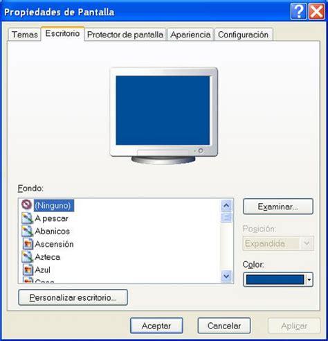 imagenes para fondo de pantalla xp poner un fondo de escritorio en windows xp