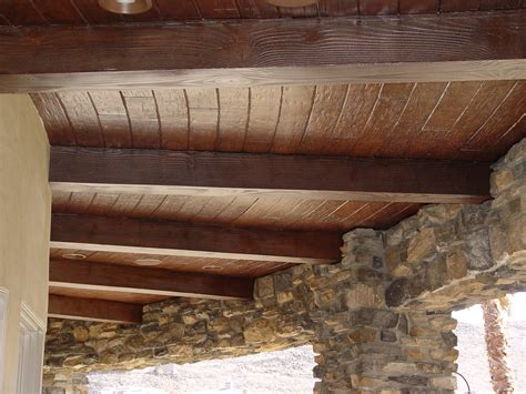 Wood Ceiling Beams | elevate your ceilings with faux wood beams realm of