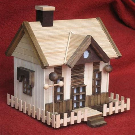 Pin By Amanda Weeks On Diy Pinterest Popsicle Stick House Plans
